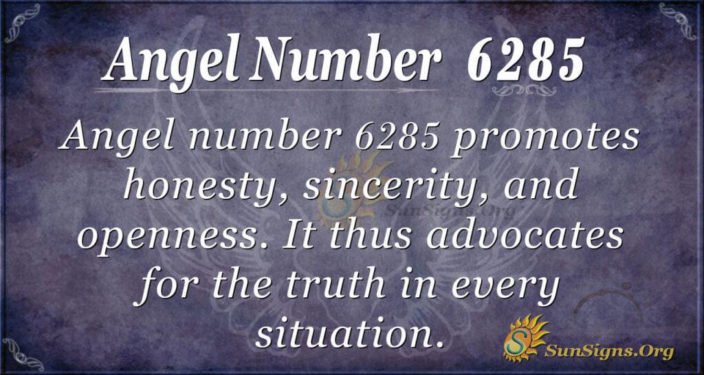 6285 angel number
