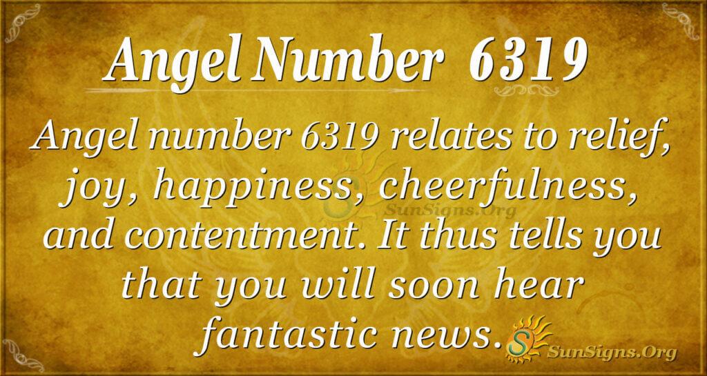 6319 angel number