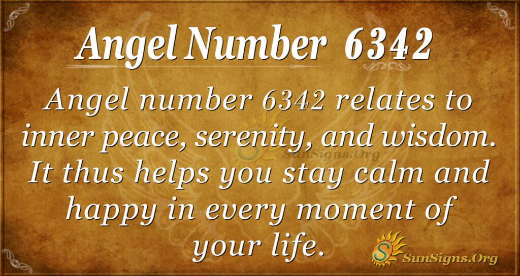 6342 angel number