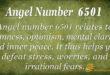 6501 angel number