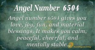 6504 angel number