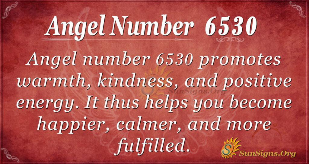 6530 angel number