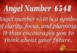 6548 angel number
