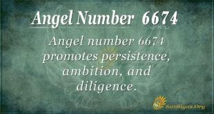 6674 angel number