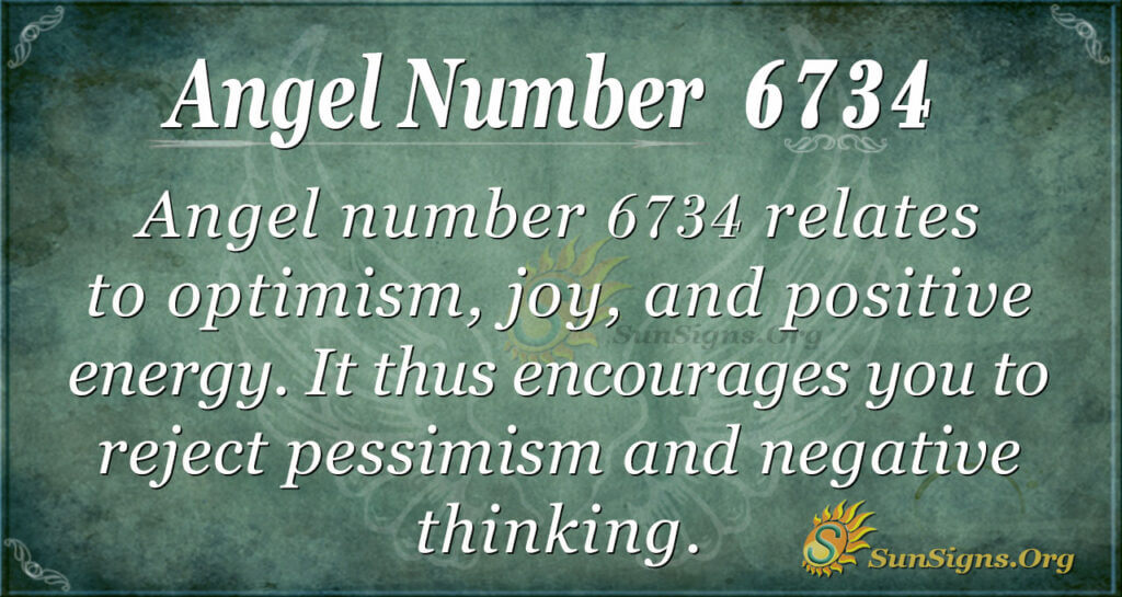 6734 angel number