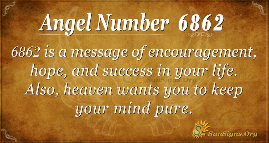 6862 angel number