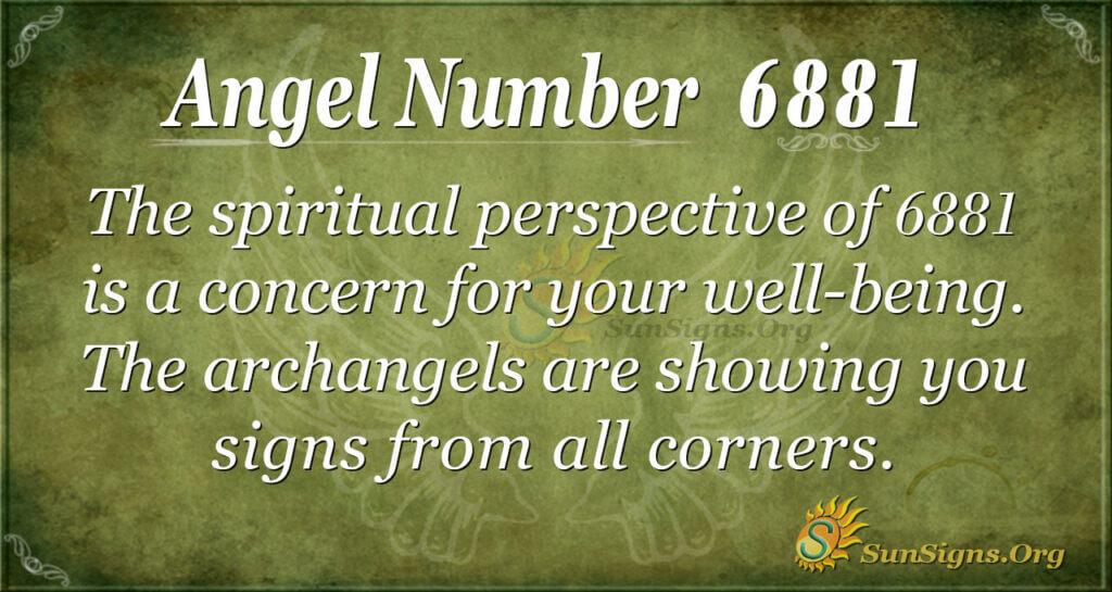 6881 angel number