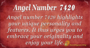 7420 angel number