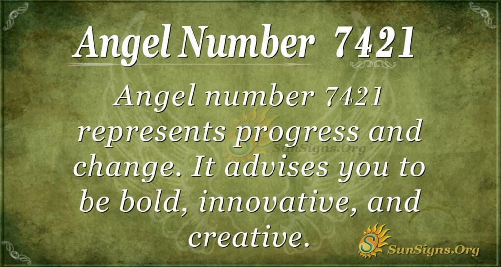 7421 angel number