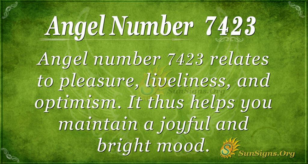 7423 angel number