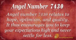 7430 angel number