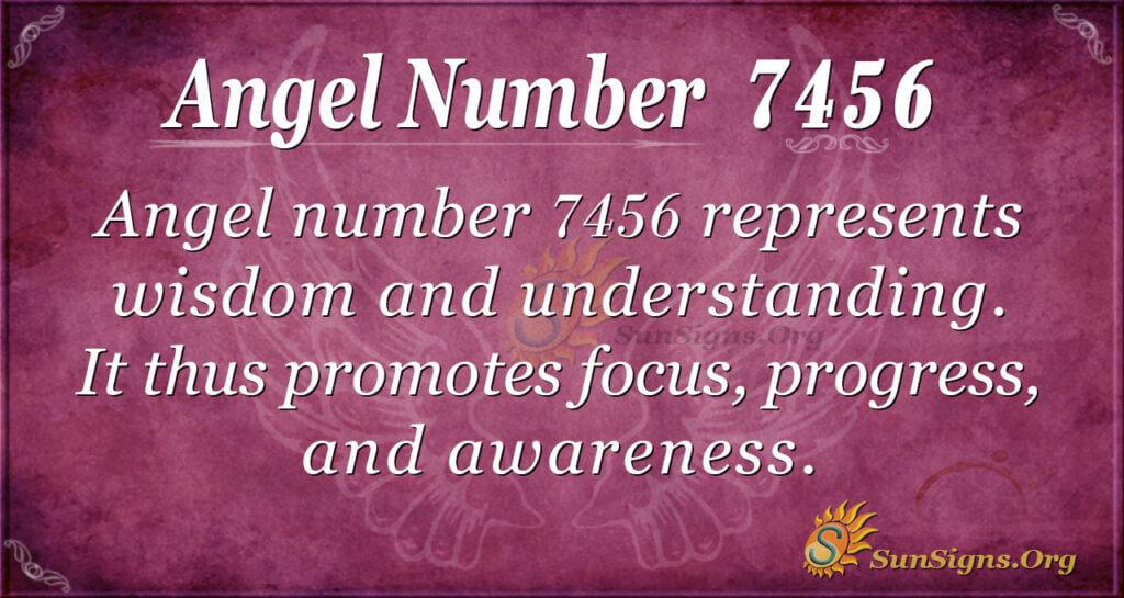 7456 angel number