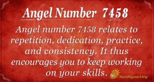 7458 angel number