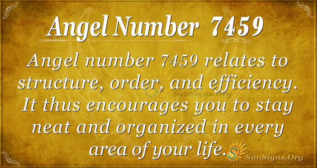 7459 angel number
