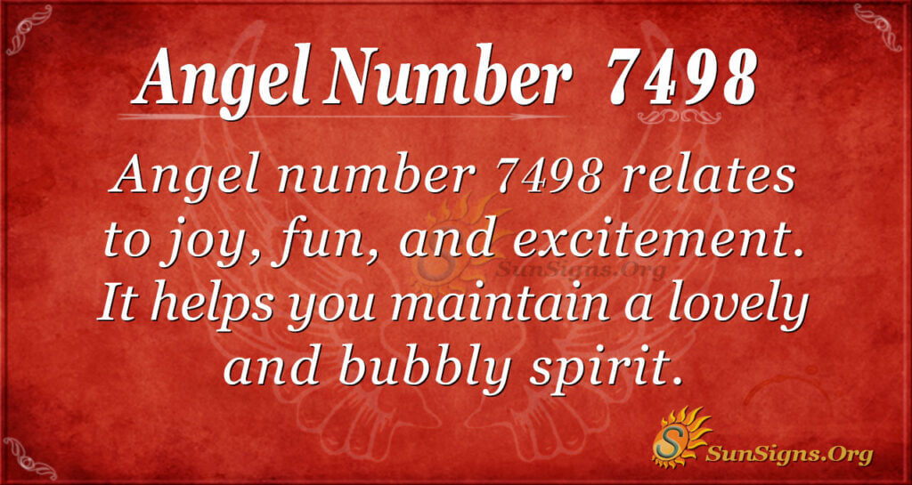 7498 angel number