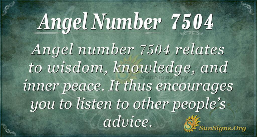 7504 angel number