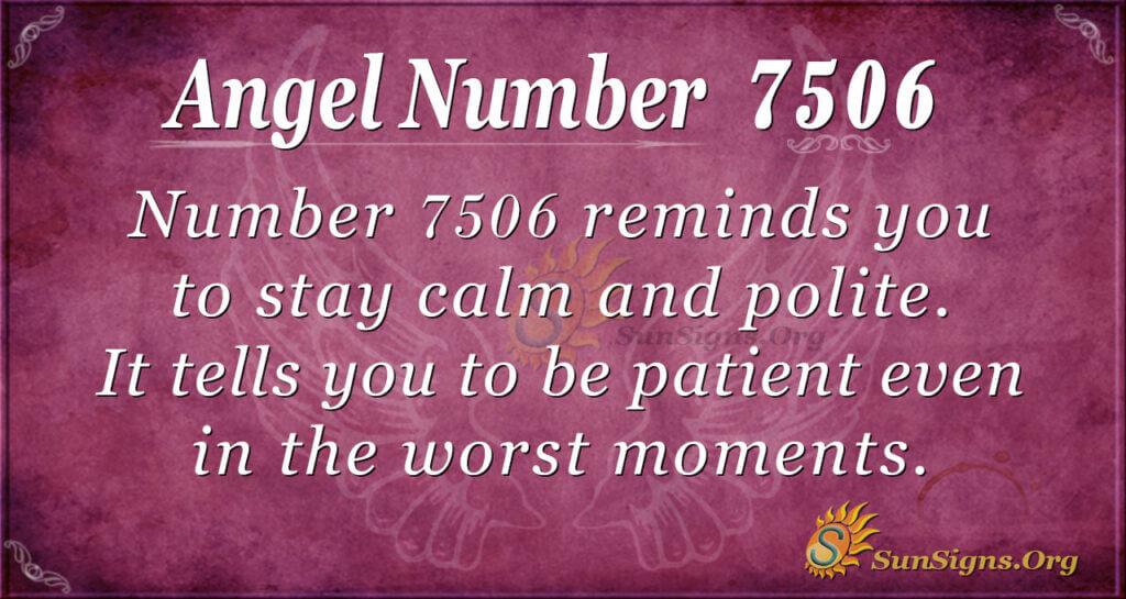 7506 angel number
