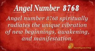 8768 angel number