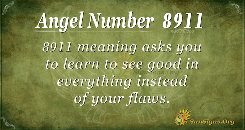 8911 angel number