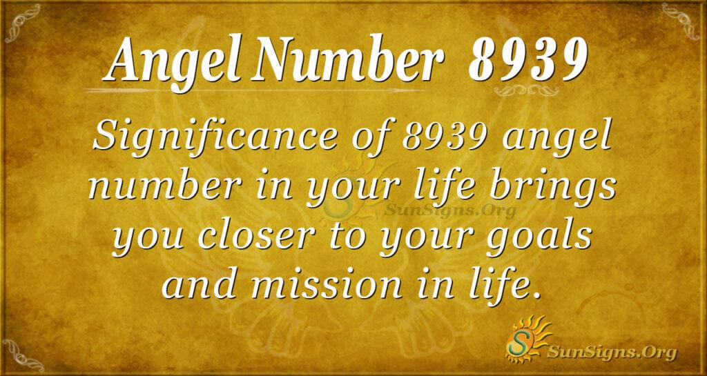 8939 angel number
