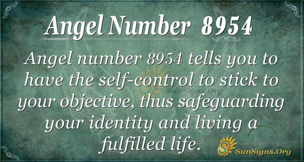8954 angel number