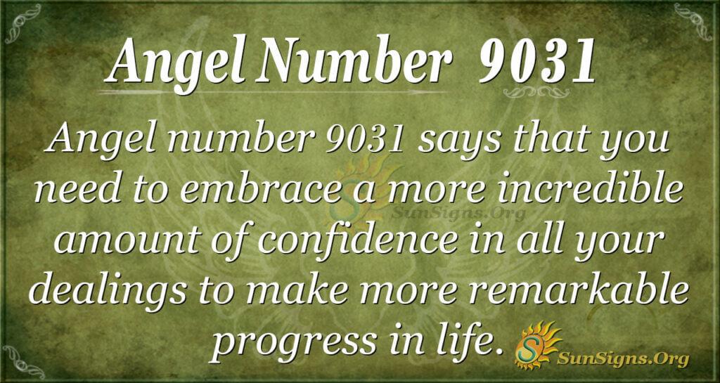 9031 angel number