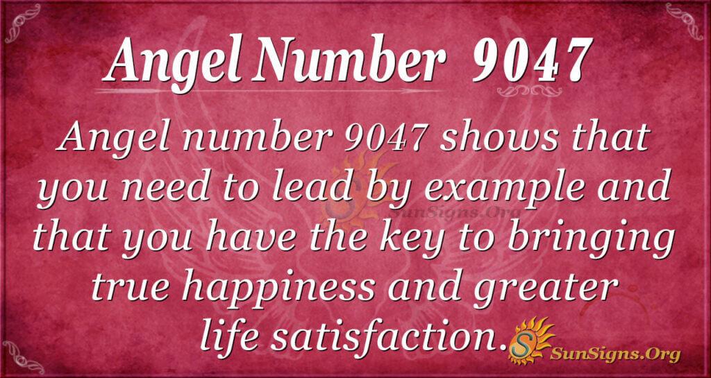 9047 angel number