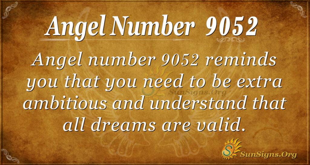 9052 angel number