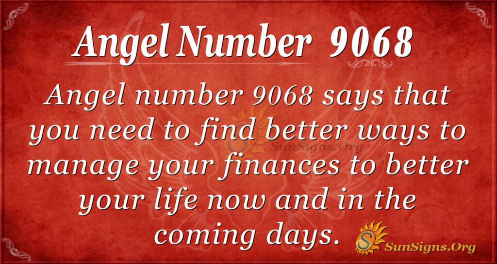 9068 angel number