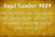 9089 angel number