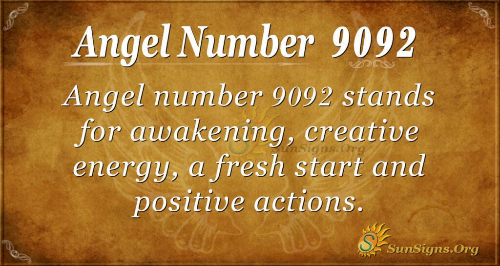 9092 angel number