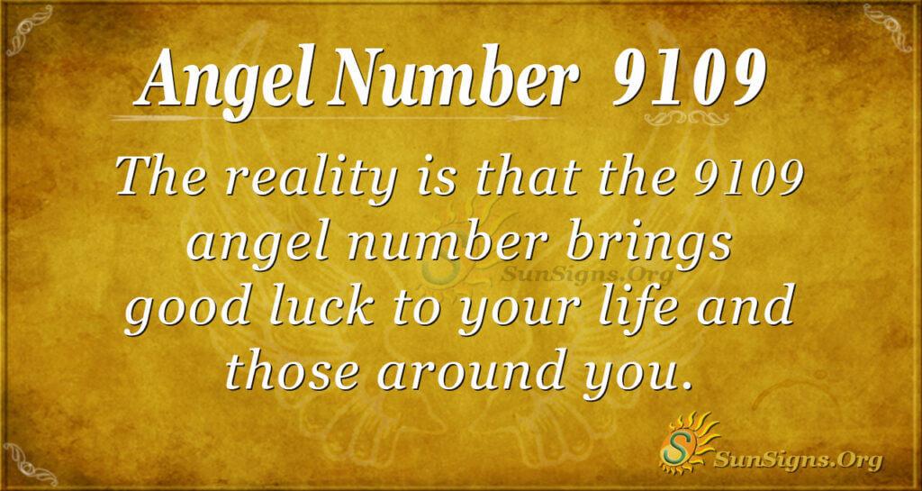 9109 angel number