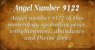 9122 angel number