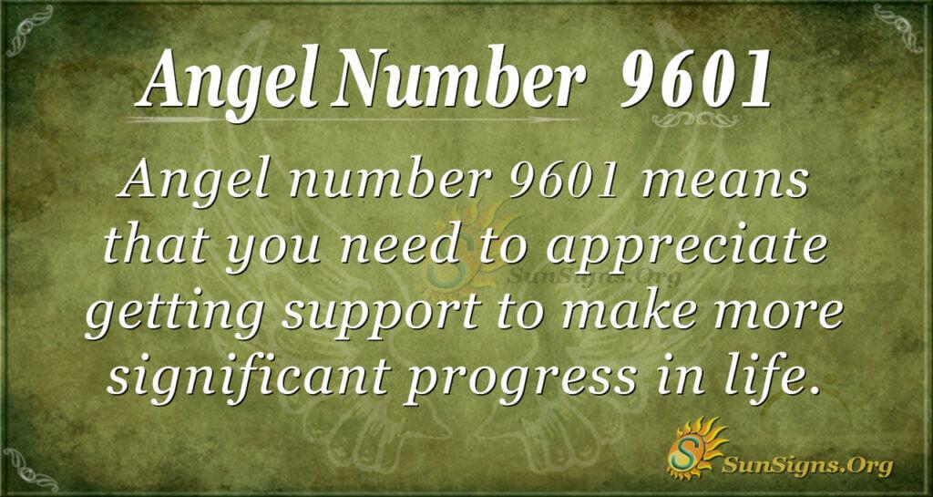 9601 angel number