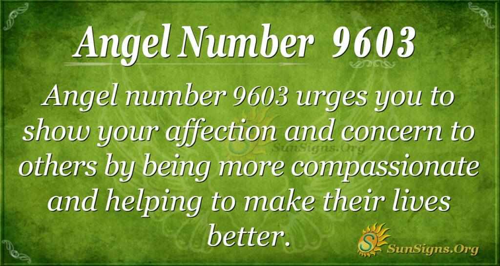 9603 angel number