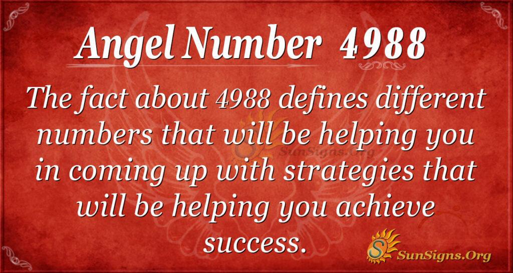4988 angel number