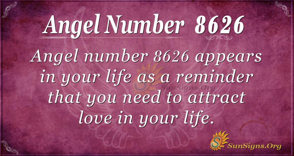 8626 angel number