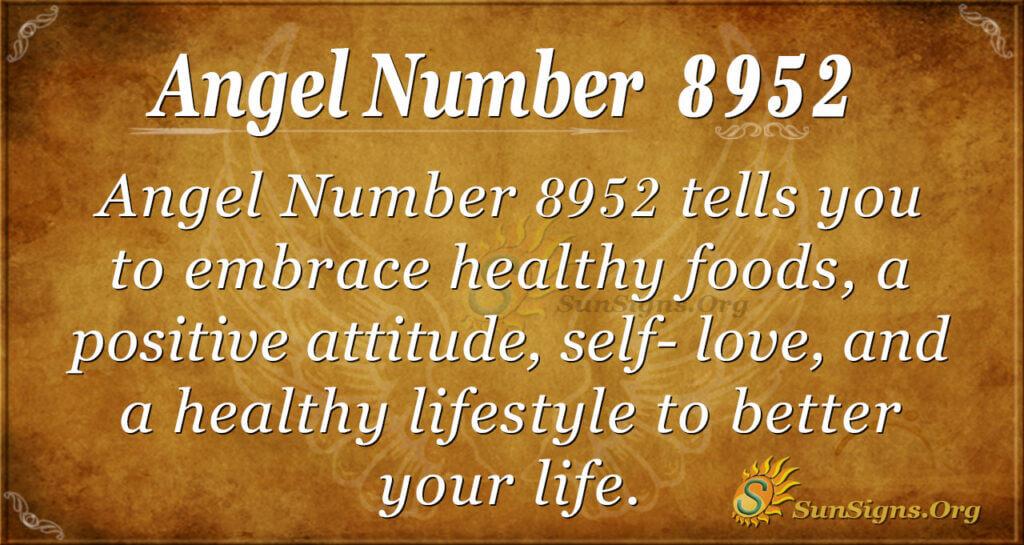 8952 angel number