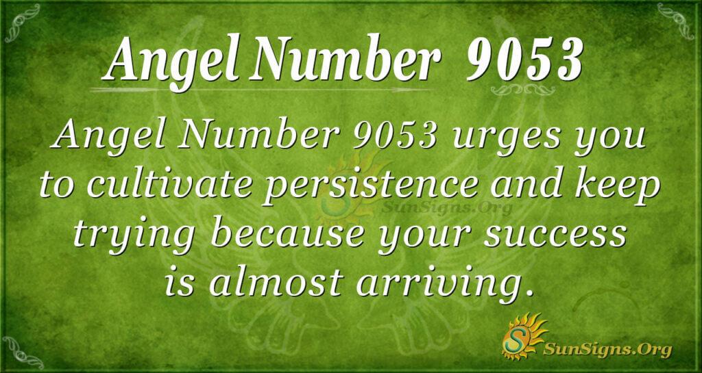 9053 angel number