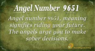 9651 angel number