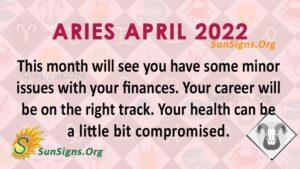 aries april 2022