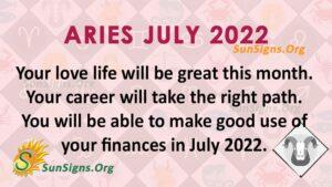 aries july 2022