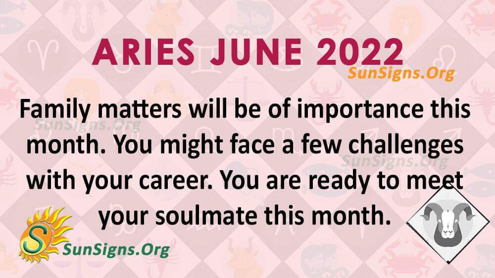 aries june 2022
