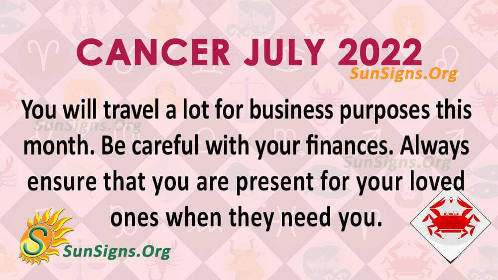 cancer july 2022