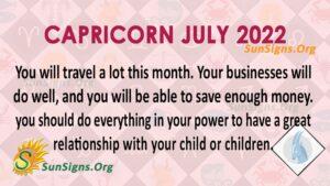 capricorn july 2022