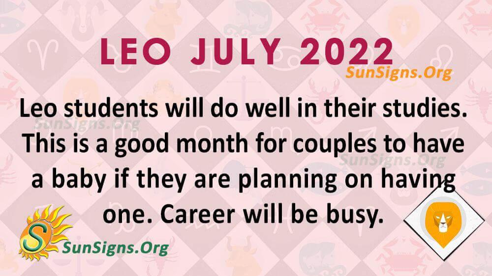 leo july 2022