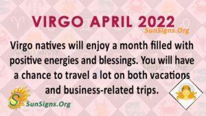 virgo april 2022