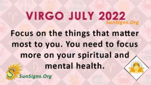 virgo july 2022