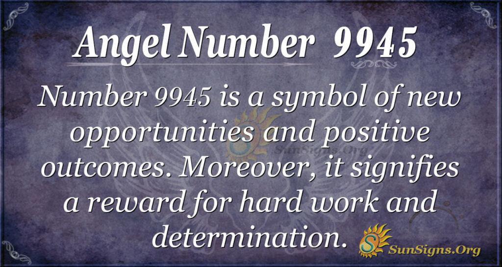 9945 angel number
