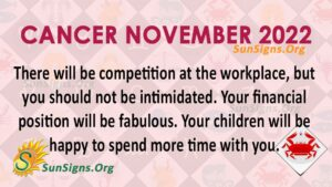 cancer november 2022